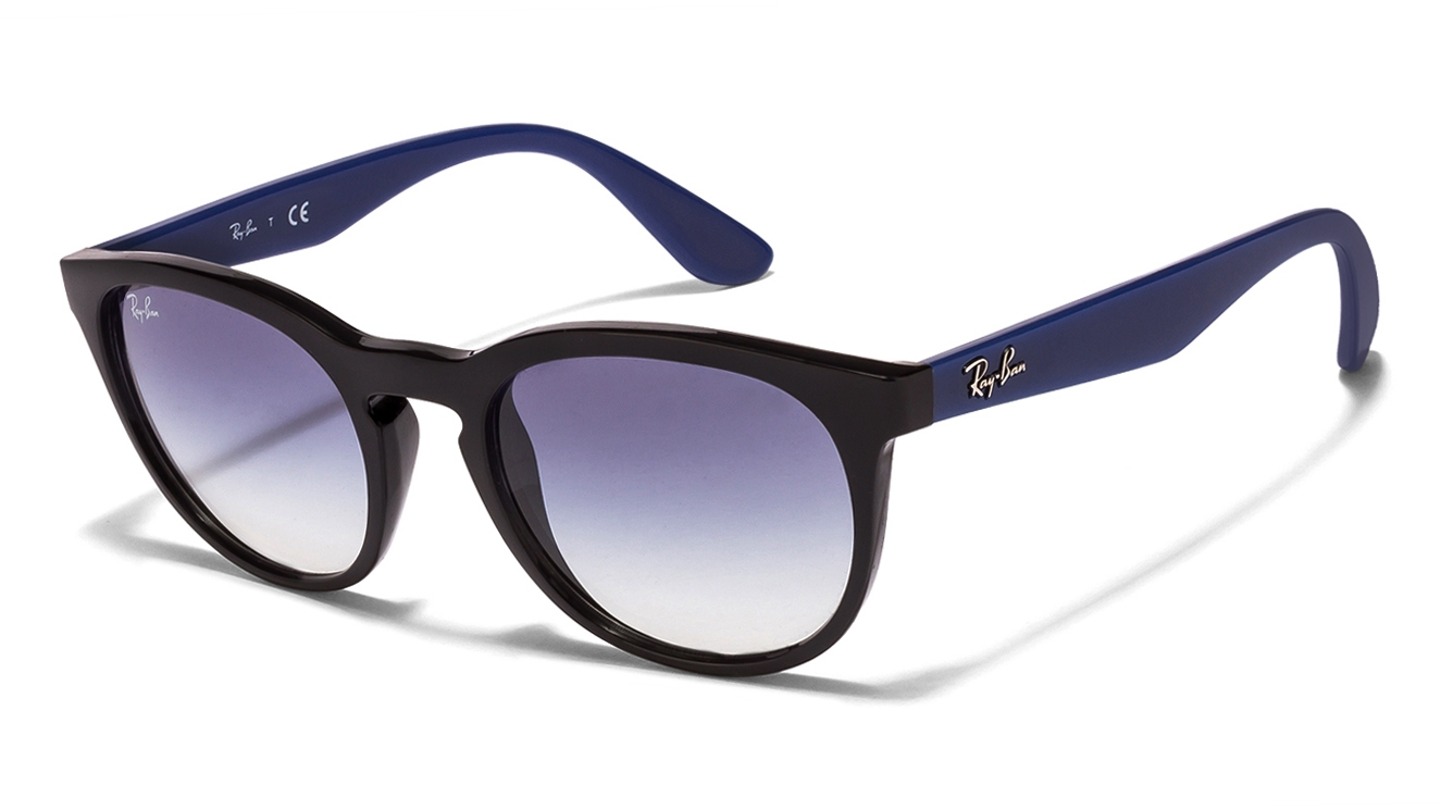 Ray-Ban RB4252 Size:51 Black Blue Gradient 6234/19 ...
