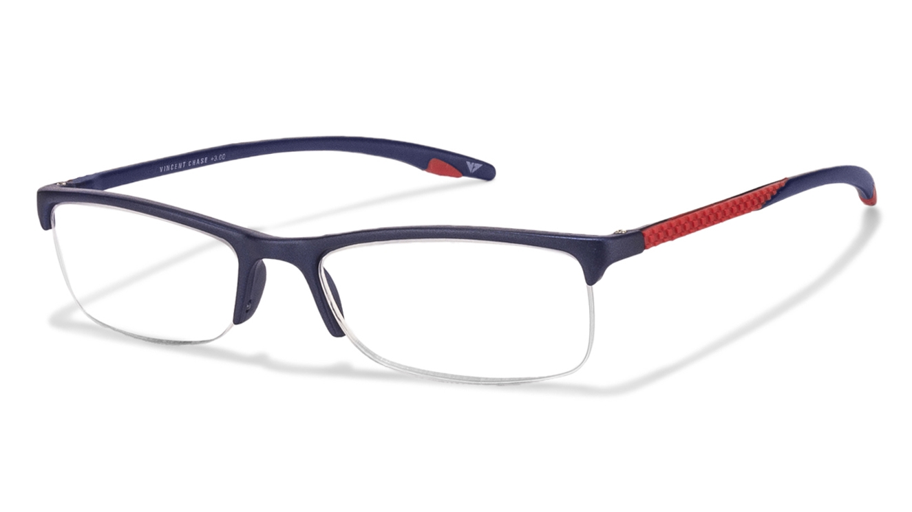 Glasses Frames At Home Try On : Shop online for Vincent Chase VC 0042 Blue Red C5 Reading ...